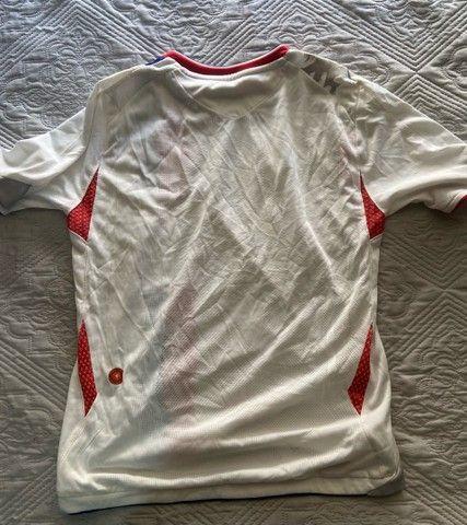 Camisa Oficial Umbro (M infantil) - Time Francês Lyon - Foto 2