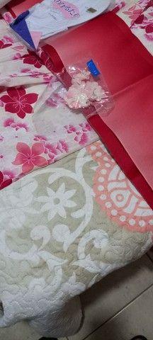 Kimono Feminino Tradicional Japonês- Floral - Foto 3
