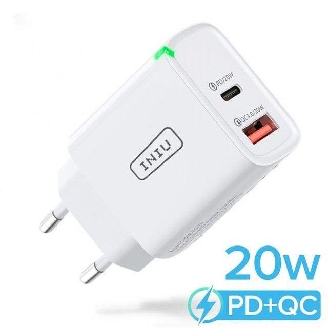 Carregador Ultra Rápido para Smartphones UNIU 20W - Foto 4