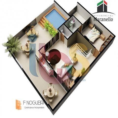 Apartamento 3/4 no Residencial Maranello - Foto 9
