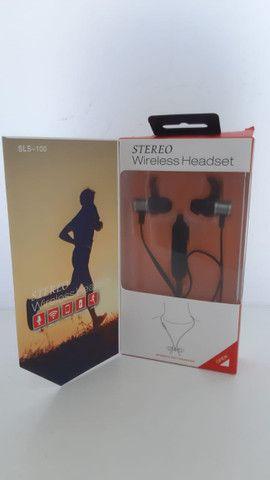 Fone Bluetooth Sports H'maston - Preto - Sls 100 - frete gratis - Foto 3