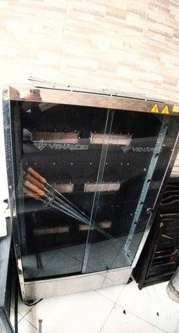 Maquinar de assar Frango, Frangueira Venâncio a Gás  - Foto 2