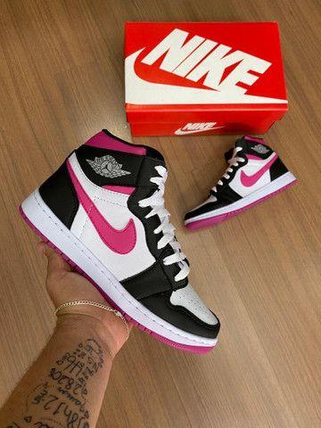 Tênis Nike Air Jordan 1 $200,00 - Foto 2