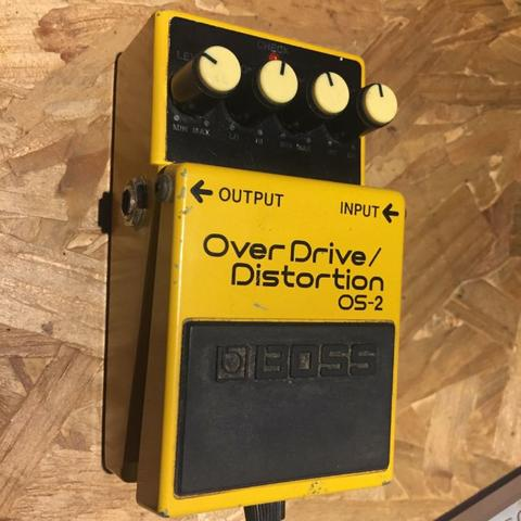 Pedal OverDrive - Distortion