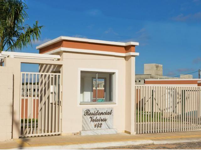 Apartamento no Veleiros 2/4 com suite na sombra