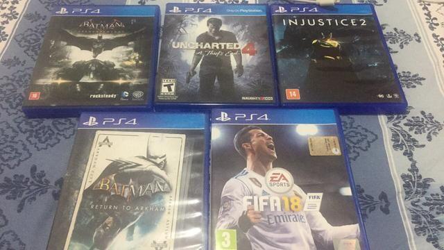 Games ps4 vendas ou trocas