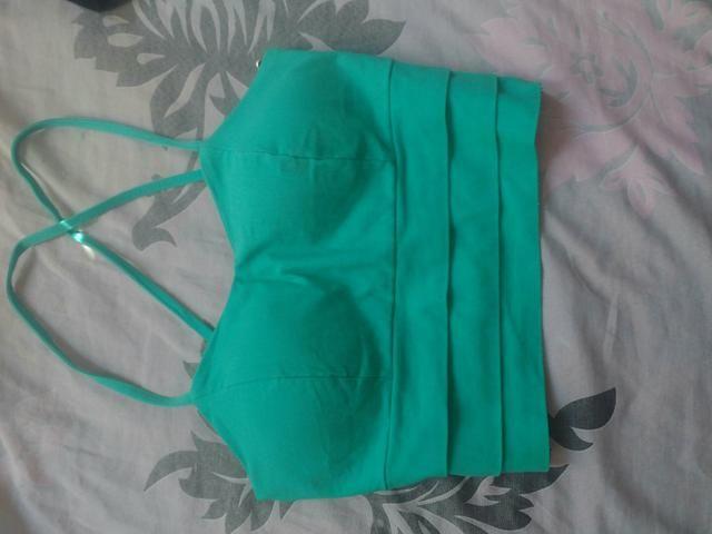 Cropped / vestido