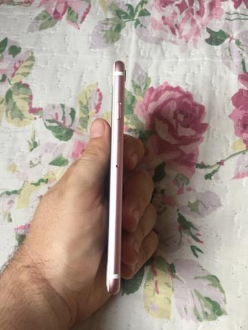 IPhone 6s Rose 32gb seminovo completo