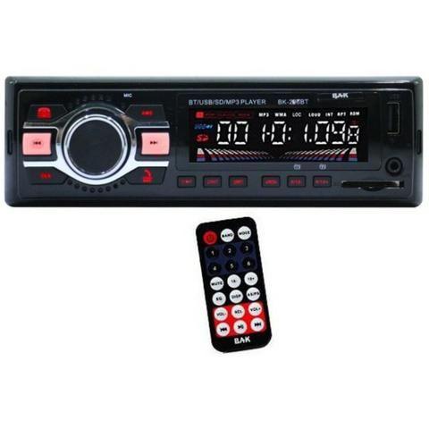 Radio veicular (novo) Bak entrada Usb/Sd e controle remoto