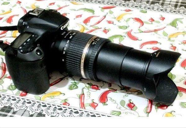 Cano 60D com Lente 18-270mm