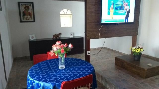 Samuel Pereira oferece: Casa Mansões Colorado Escriturada Churrasqueira 3 Quartos sendo 1 - Foto 9