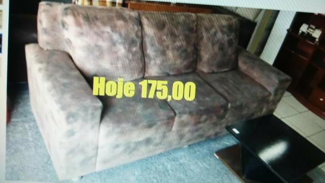 Sofa 3 lugares em bom estado