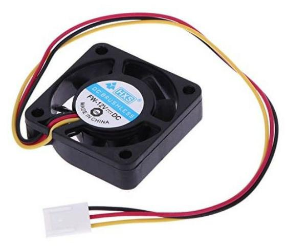 COD-CP208 Micro Ventilador 40x40x10mm Fan Cooler 12v Dc Arduino Automação  Robotica