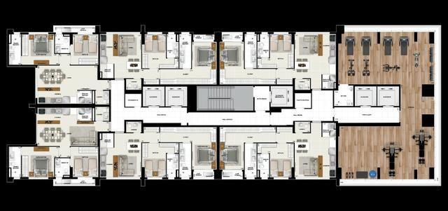Spot Marista, Apartamento 120m2, 3 suítes, 2 vagas, Setor Marista, Goiânia - Go - Foto 17