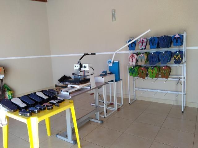 Máquinas para fabricação de chinelos - Foto 4