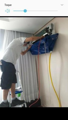 Instalação, Higienização ar Split,nocartão - Foto 2