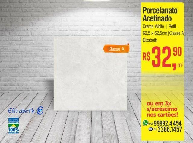 Porcelanato Crema White HD Esmaltado - Elizabeth