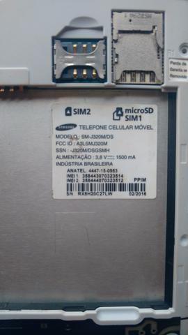 Samsung SM-J320M/DS dourado para trocar display ou retirar peças - Foto 4