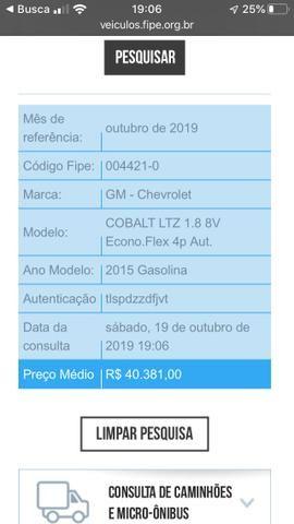 Chevrolet Cobalt LTZ 1.8 AUT 2015 - Foto 5