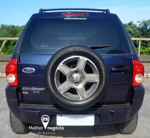 Ford Ecosport XLT FreeStyle 1.6 8v Flex Azul - Foto 6