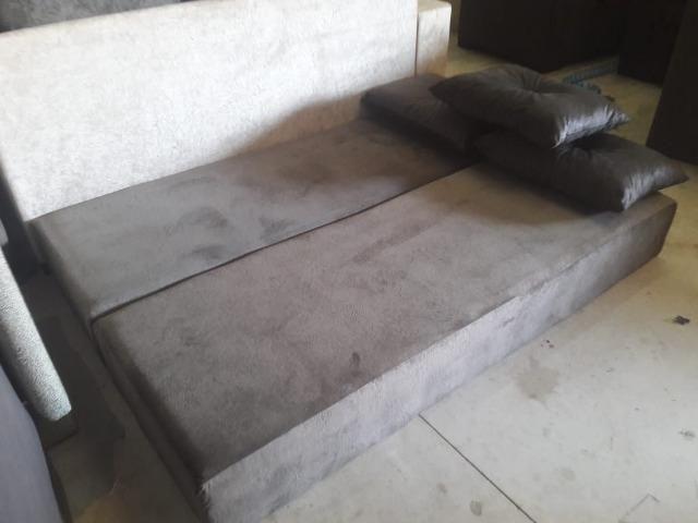 Sofá super sono Multifuncional c/3 almofadas - Foto 5