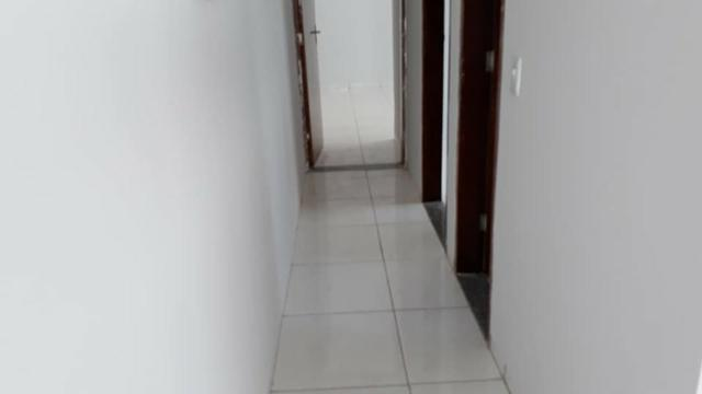Linda Casa Nova Financia 2/4 Sendo 1 Suíte Na Laje Casa Individual Frente Pra Sombra - Foto 3