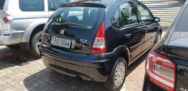.*. Citroen C3 2011 completo / ar condicionado e direção hidráulica / airbag/ baixo km - Foto 4