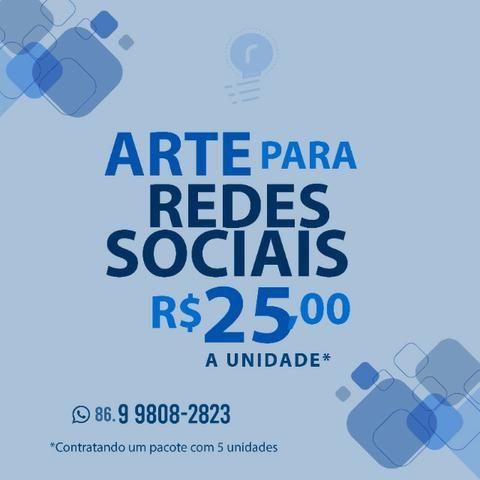 Arte para Rede Sociais