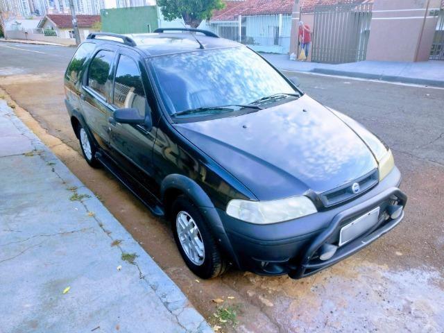 Fiat Palio Weekend Adventure 2001 - 1.6 - 4P - Gasolina - 16V - Completo - Foto 3