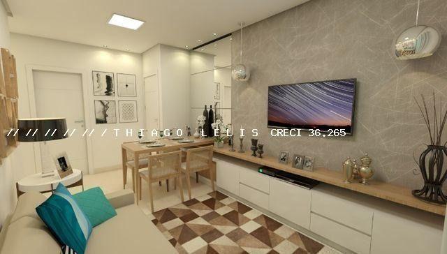 Apartamento de 2 Qtos varanda vaga e elevador em Bandeirantes - Foto 4