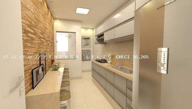 Apartamento de 2 Qtos varanda vaga e elevador em Bandeirantes - Foto 9