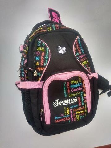 Mochila back pock Jesus