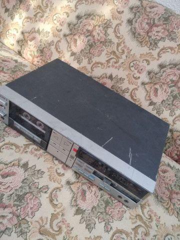 Tapedeck Sony TC-FX510R(leia a descrição) - Foto 4