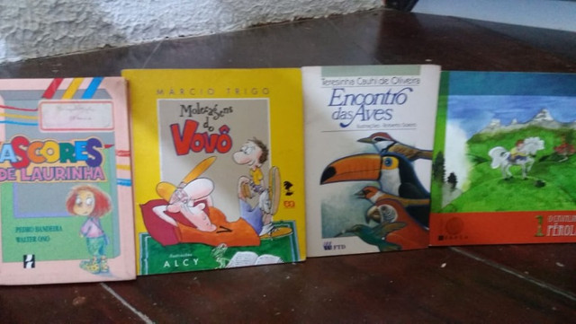 Livros pra crianças