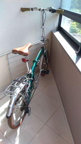 Bicicleta dobrável em alumínio - Foto 4