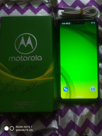 Smartphone Motorola Moto G7 Power Azul de 32+03 GB com TV Digital - Foto 3