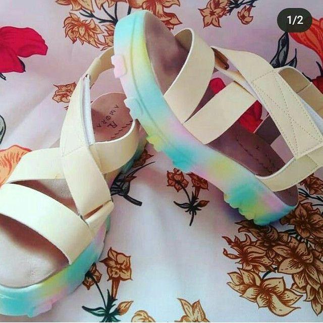 Sapatos femininos diversos modelos variados número - Foto 4