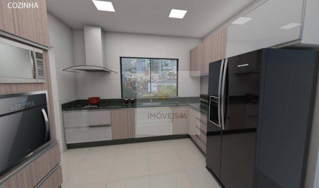 (Vende-se) Residencial Monte Cassino - Apartamento com 3 dormitórios à venda, 151 m² por R - Foto 6