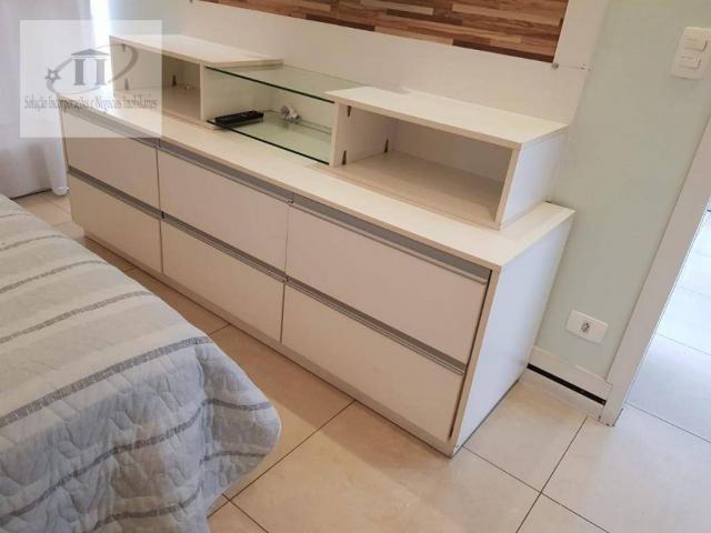 Flat com 1 dormitório à venda, 52 m² por R$ 420.000,00 - Edifício Létoile - Barueri/SP - Foto 17