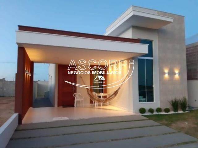 Realize o sonho de sua casa em condomínio fechado (Cod. CA00241) - Foto 2