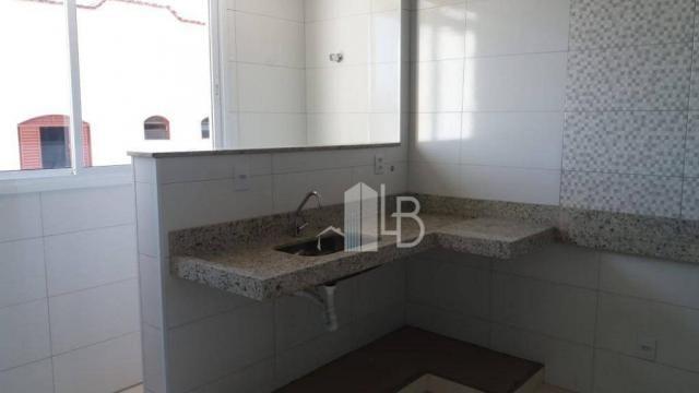 Apartamento com 2 dormitórios à venda, 63 m² por R$ 210.000,00 - Santa Mônica - Uberlândia - Foto 2
