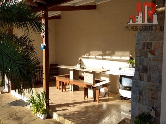Casa duplex com piscina e Casa de hospede, frente para Lagoa de Araruama Balneário - São P - Foto 7