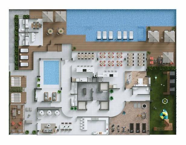 80 Meses para pgto! Projeto Moderno, 4 suítes com 3 vagas no Centro da Cidade! - Foto 18