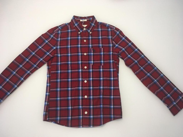 Camisas infantil de botão Abercombrie - tam M - 10 anos