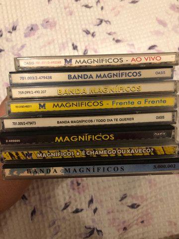 CDs Banda Magníficos