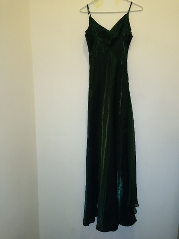 Vestido de festa longo verde - Foto 2