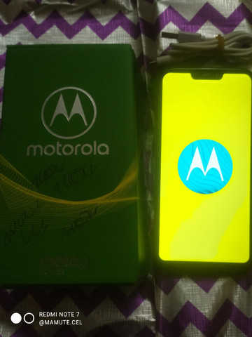 Smartphone Motorola Moto G7 Power Azul de 32+03 GB com TV Digital - Foto 4