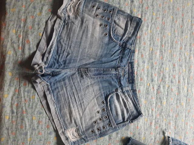 Desapego de shorts semi novos de marca: Walery, South, espaço fashion e YSC. - Foto 3