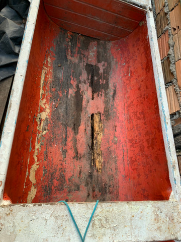 Canoa de madeira - Foto 2