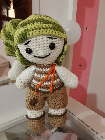 Bonecos de crochê - Foto 4